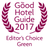 See our entry in the Good Hotel Guide - Editor's Choice 2017 Green Hotels