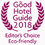 See our entry in the Good Hotel Guide - Editor's Choice 2018 Green Hotels
